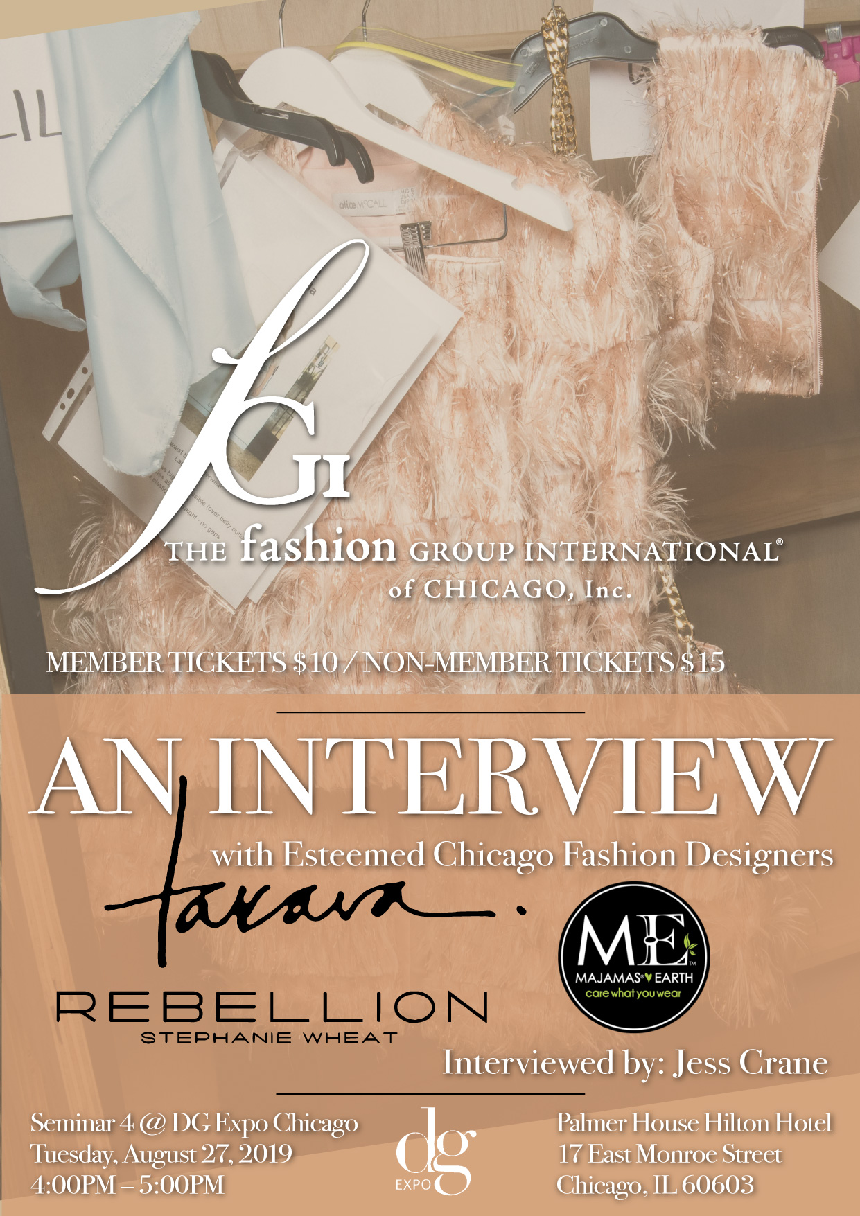 fgi chicago event seminar interview with chicago fashion designers dg expo fabric fashion design