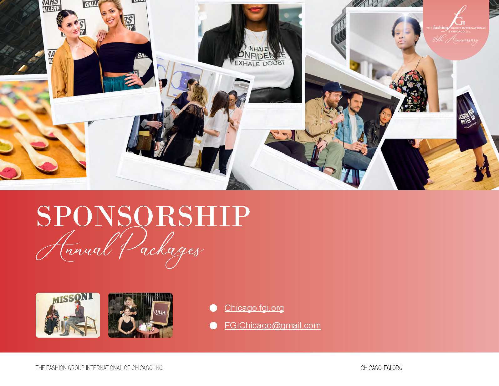 fgi chicago events sponsor sponsorship fashion design interiors home beauty events industry  networking