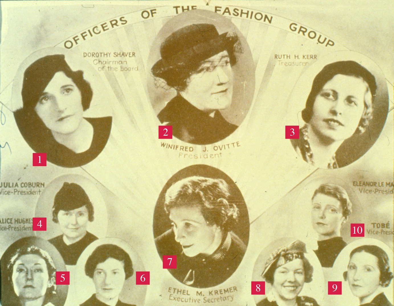 Officers of The Fashion Group