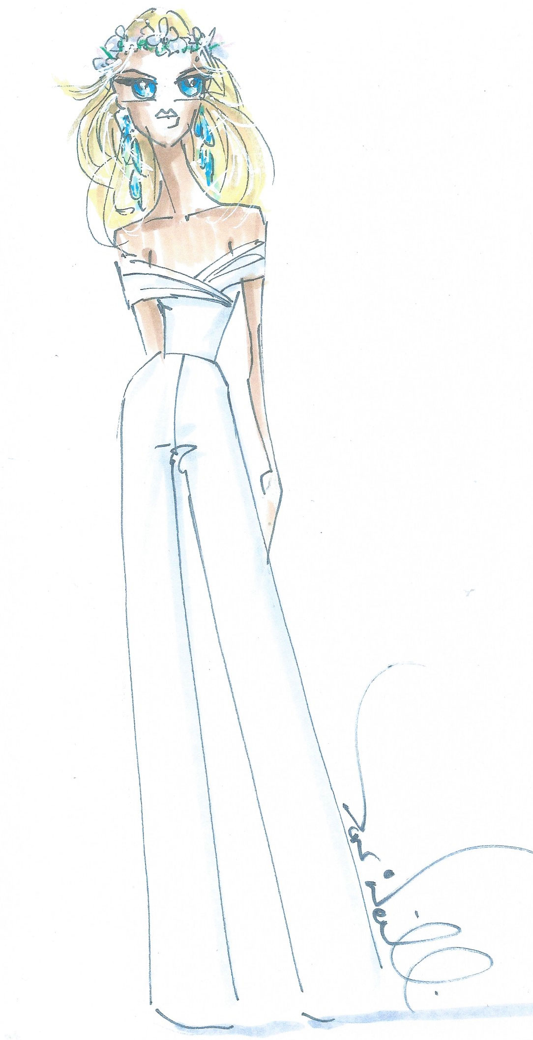 Bridal Jumpsuit by Don O'Neill