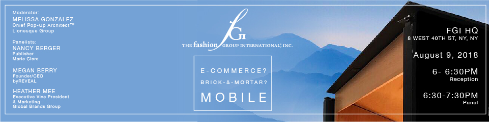E-commerce? Brick-&-mortar? Mobile